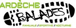 Guide randonnée Ardèche Logo